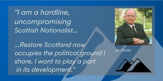 Jim Fairlie: Why I Have Joined Restore Scotland